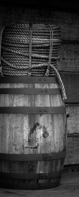 Fort Ross supply barrel and rope thumbnail
